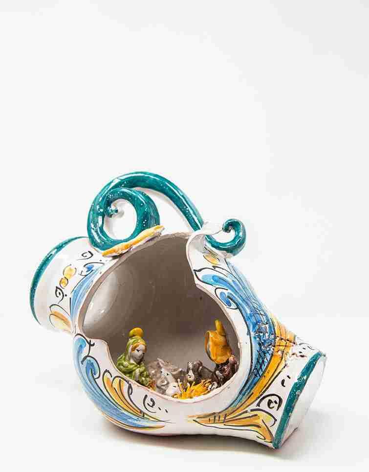 Ceramiche di Caltagirone dipinte a mano