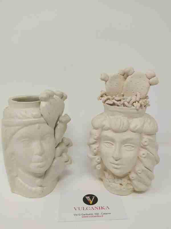 Teste di Moro in Ceramica Grezza