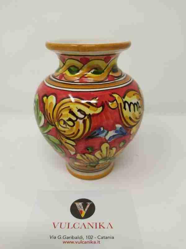 vaso-in-ceramica-di-caltagirone-dipinto-a-mano