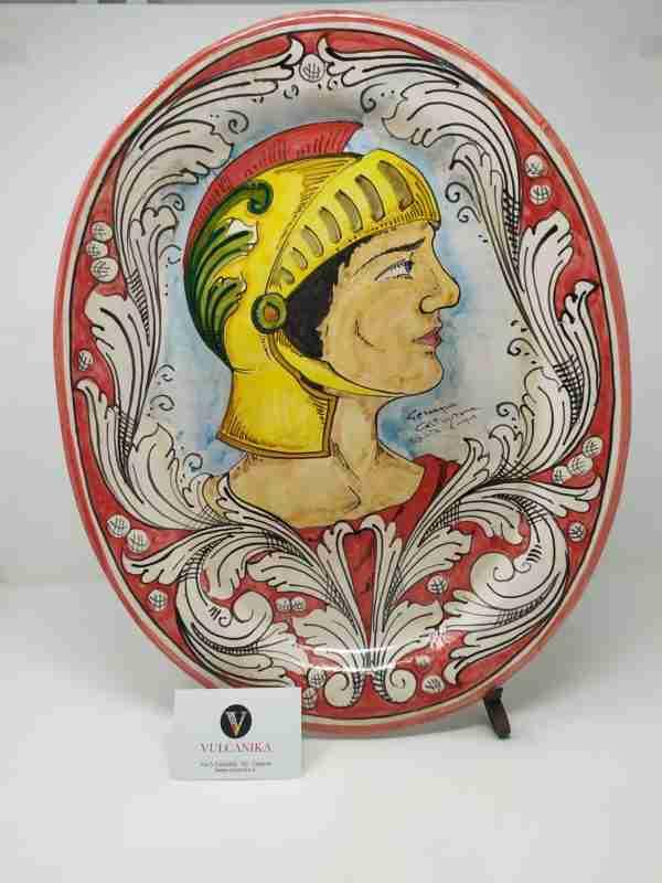 Piatto SIciliano in Ceramica di Caltagirone