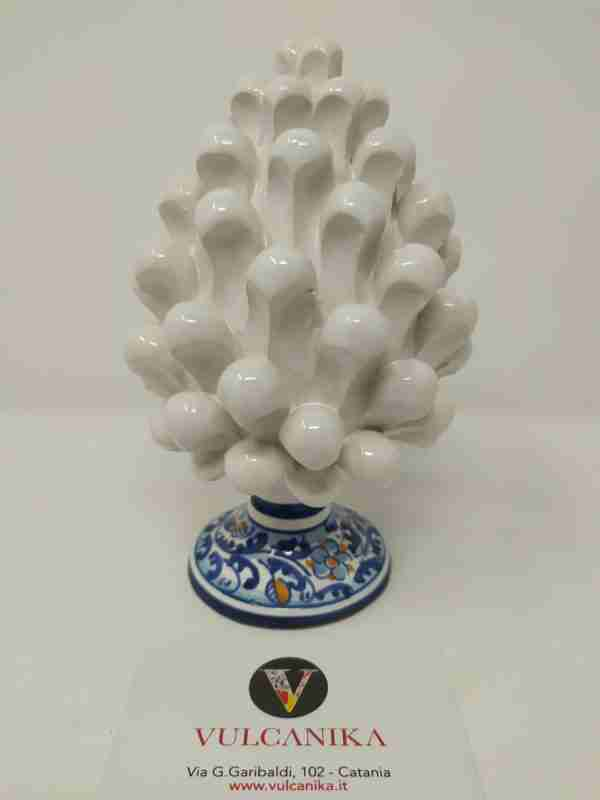 Pigna in Ceramica di Caltagirone dipinta a mano
