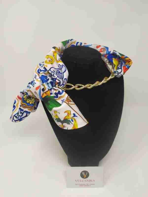 Foulard collana Stile Siciliano