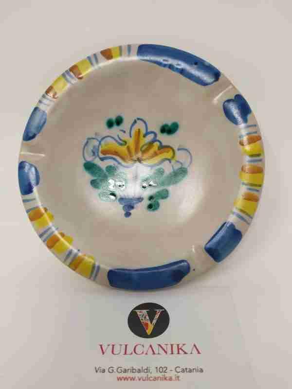 Posacenere in Ceramica di Caltagirone