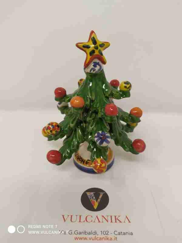 Alberello di Natale in Ceramica di Caltagirone