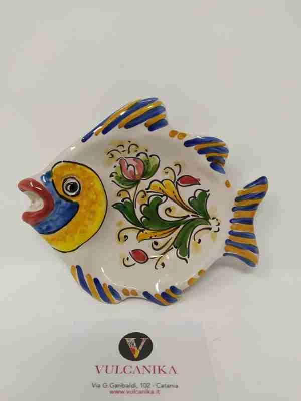 Pesce in Ceramica di Caltagirone
