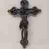 Crocifisso in pietra lavica