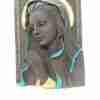Capezzale Madonna in pietra lavica