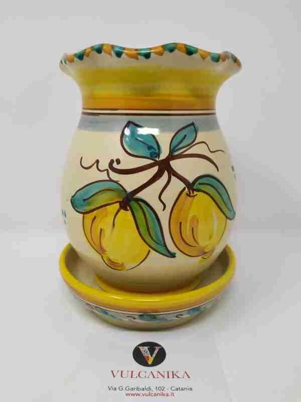 Scolaposate in Ceramica di Caltagirone