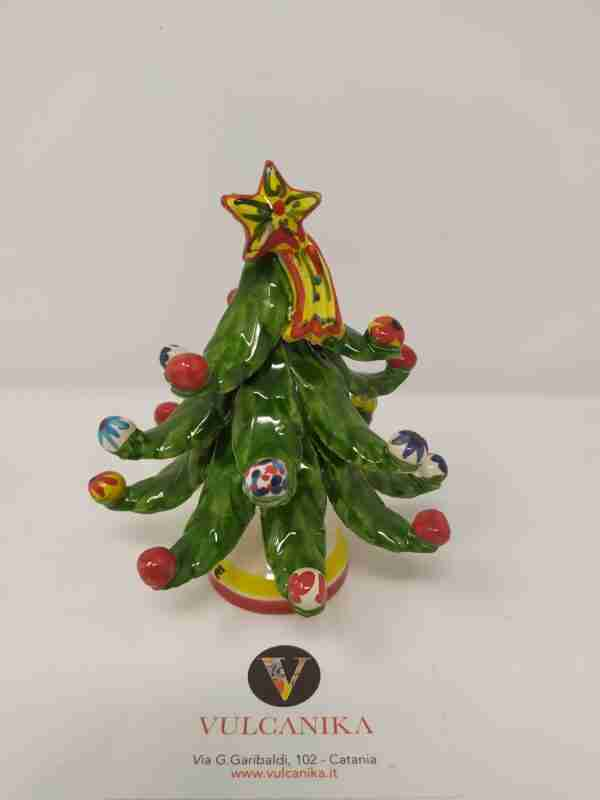 Albero di Natale in Ceramica di Caltagirone