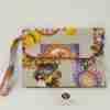 Pochette cotone cucita a mano Soggetto Sicilia