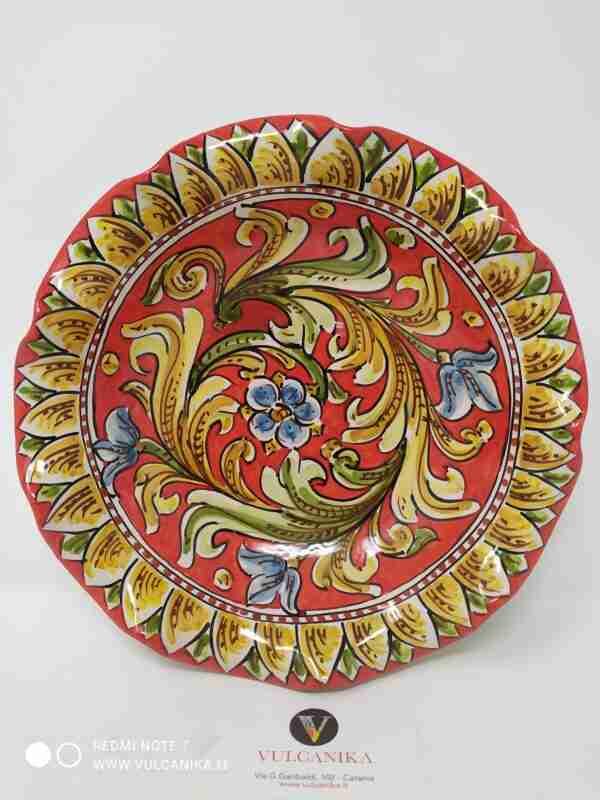 Vassoio in Ceramica di Caltagirone